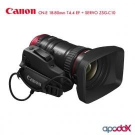 CANON CN-E 18-80mm T4.4 EF + SERVO ZSG-C10 ( Descontinuado )
