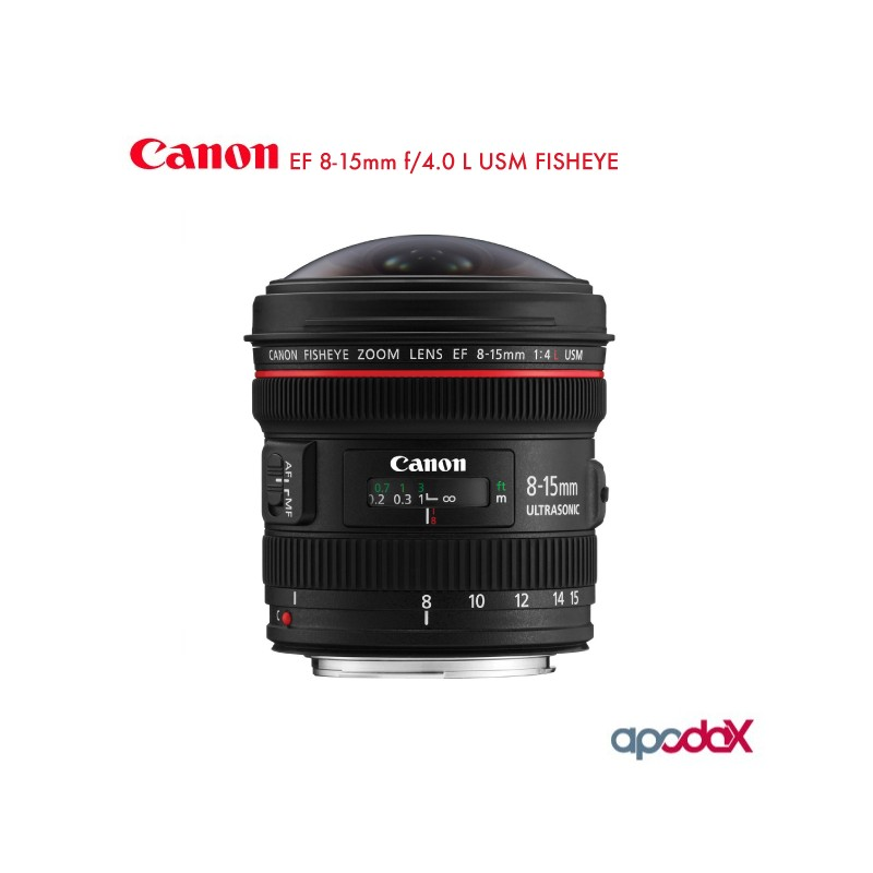 CANON EF 8-15mm f/4.0 L USM FISHEYE