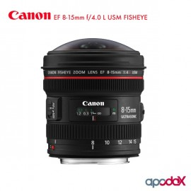 CANON EF 8-15mm f/4.0 L USM FISHEYE