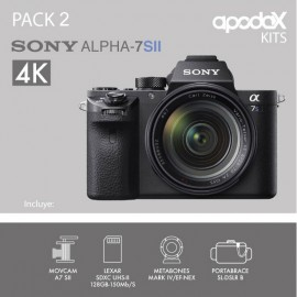 PACK 2 - SONY A7 SII