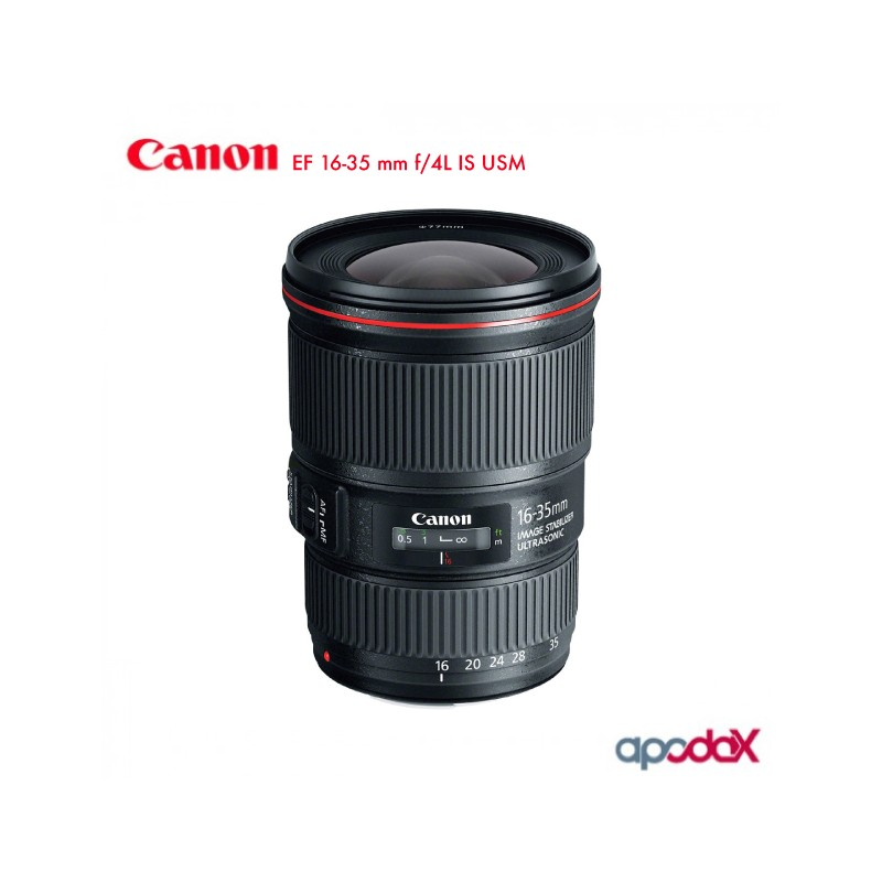 CANON EF 16-35 mm f/4L IS USM
