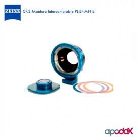 CARL ZEISS CP.3 Montura Intercambiable PL-EF-MFT-E