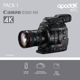 PACK 1 - CANON C300 Mark II