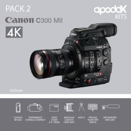 PACK 2 - CANON C300 Mark II