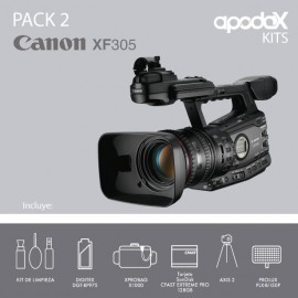 PACK 2 - CANON XF305