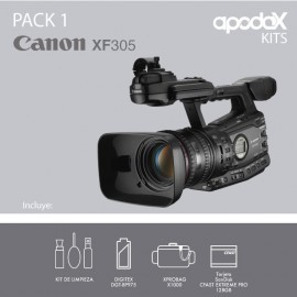 PACK 1 - CANON XF305