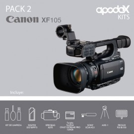 PACK 2 - CANON XF105