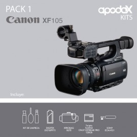 PACK 1 - CANON XF105
