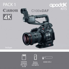 PACK 1 - CANON EOS C100 + DAF
