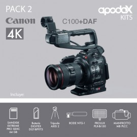 PACK 2 - CANON EOS C100 + DAF