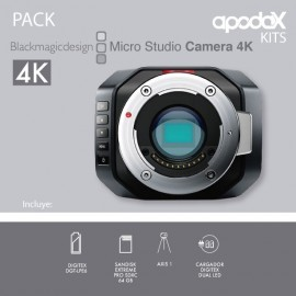 PACK 1 - BLACKMAGIC MICRO STUDIO CAMERA 4K
