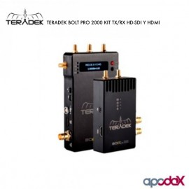 TERADEK BOLT PRO 2000 KIT TX/RX HD-SDI-HDMI