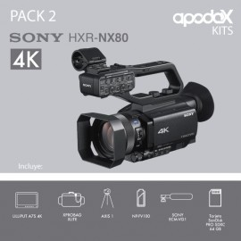 PACK 2 SONY HXR-NX80