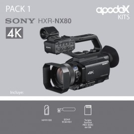 PACK 1 SONY HXR-NX80