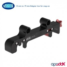 VOCAS 15 mm to 19 mm Adapter low for snap-on