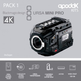PACK 1 BLACKMAGIC URSA MINI PRO