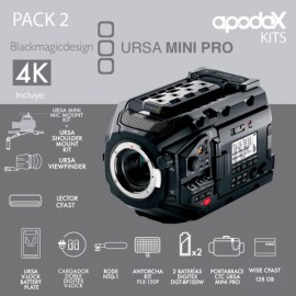 PACK 2 BLACKMAGIC URSA MINI PRO