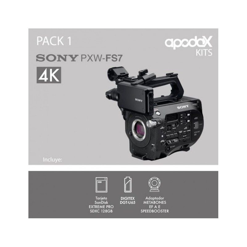PACK 1 SONY FS7