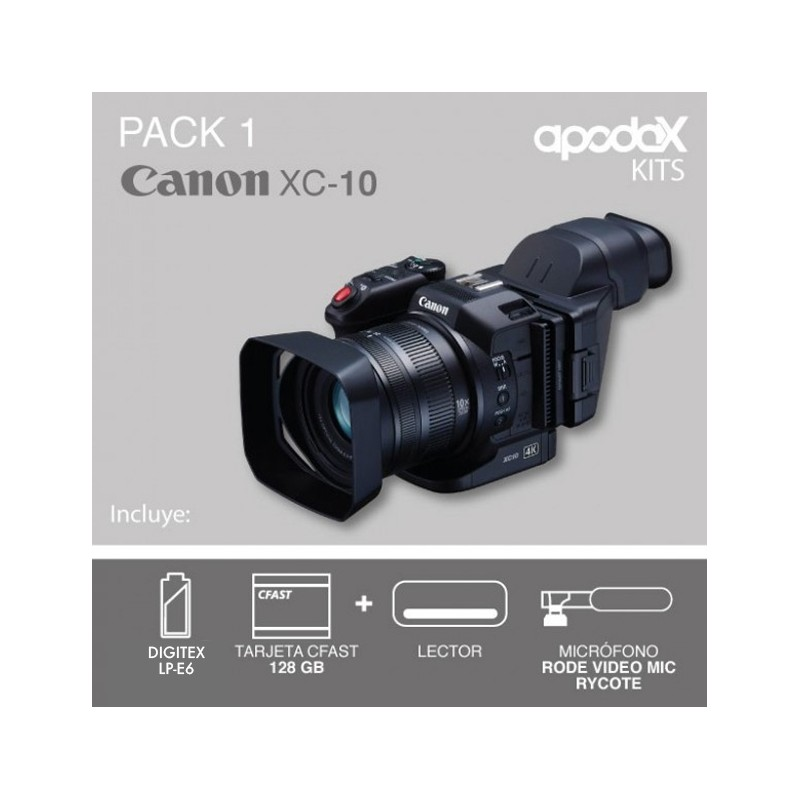 PACK 1 CANON XC10
