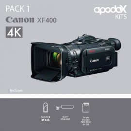 PACK 1 CANON XF400