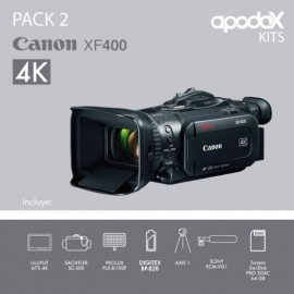 PACK 2 CANON XF400