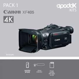 PACK 1 CANON XF405