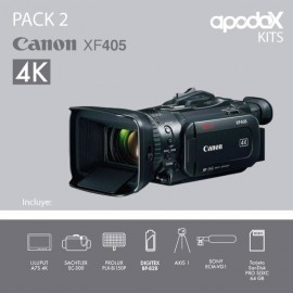 PACK 2 CANON XF405