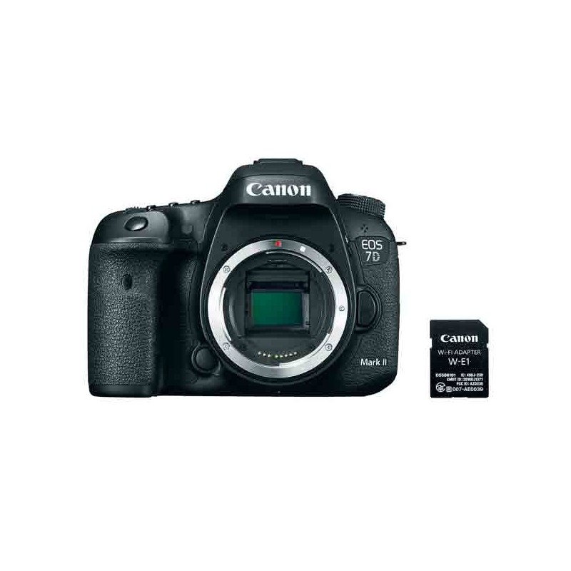 CANON EOS 7D Mark II + Adaptador WiFi W-E1