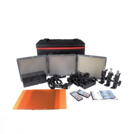 APUTURE PANELES LED. Mod. HR672 KIT BICOLOR CCC