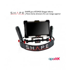 SHAPE para ATOMOS Shogun Inferno y Flame Series directors Kit con mango superior