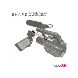 SHAPE Viewfinder Solution para FS5 Top Plate