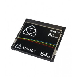 ATOMOS TARJETA CFAST 1.0 DE 64GB