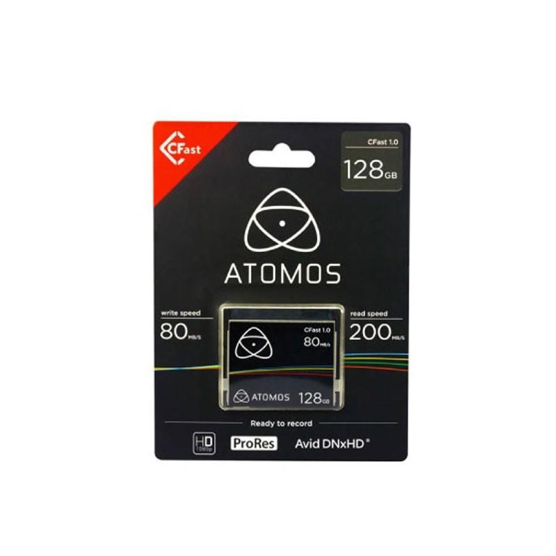 ATOMOS TARJETA CFAST 1.0 DE 128GB