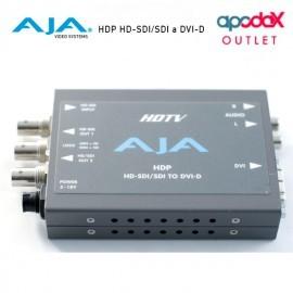 AJA HDP HD-SDI/SDI a DVI-D