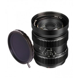 SLR Magic HyperPrime CINE 12mm T1.6 (mFT Mount)