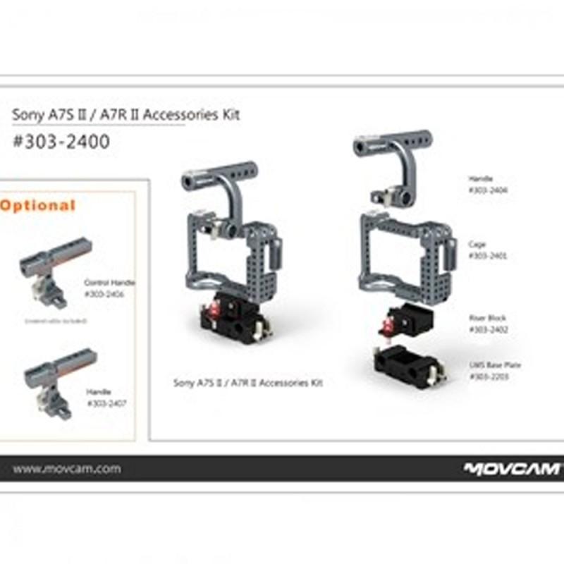 MOVCAM CAGE SONY A7SII/A7RII