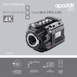 PACK Blackmagic URSA Mini PRO 4.6K EF