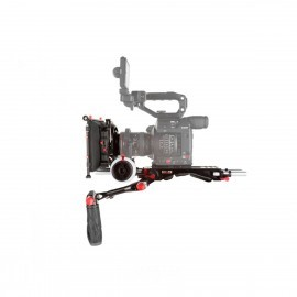 "SHAPE Canon C200 Camera Bundle Rig con Follow Focus Pro y 4 x 5.6"" Matte Box"