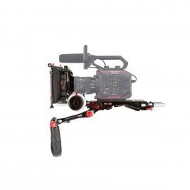 "SHAPE Panasonic AU-EVA1 Camera Bundle Rig con Follow Focus Pro y 4 x 5.6"" Matte Box"