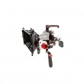 SHAPE Soporte de hombro para GH5 con caja, Matte Box y Follow Focus