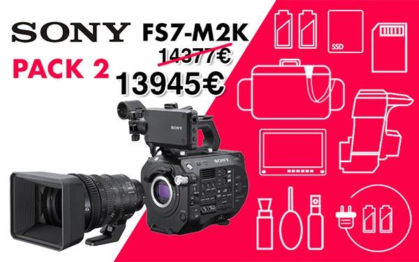 Pack 2 sony fs7 m2k