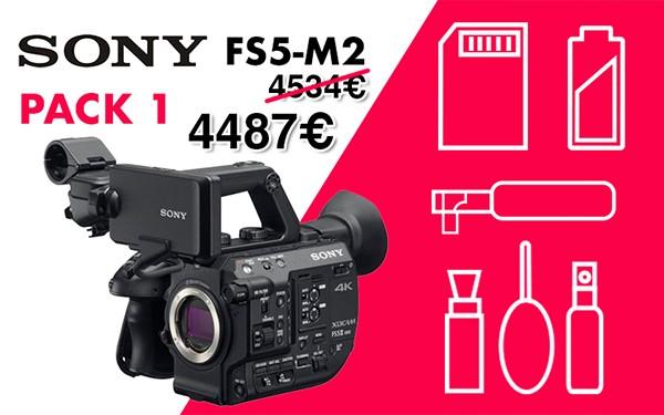 Pack 1 sony fs5 m2