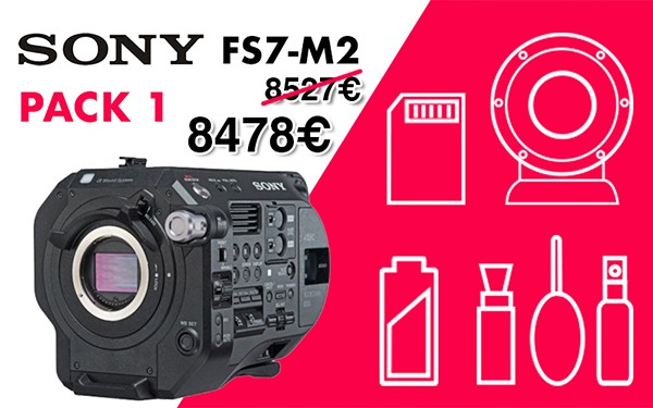 Pack 1 sony fs7 m2